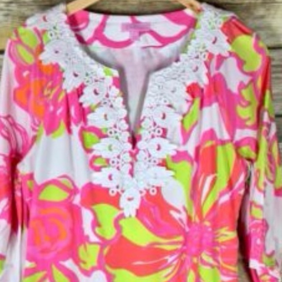 Lilly Pulitzer Dresses & Skirts - Lilly Pulitzer 3/4 sleeve dress
